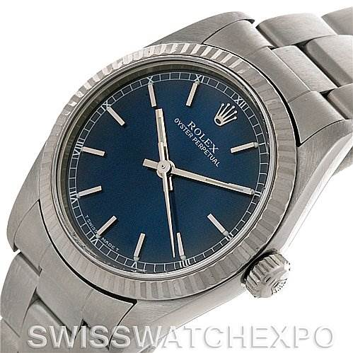 2693a Rolex Midsize Oyster Perpetual Watch Steel Gold 77014 SwissWatchExpo