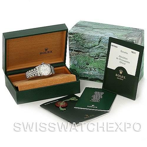 3081 Rolex Midsize Oyster Perpetual Datejust Steel 78240 SwissWatchExpo