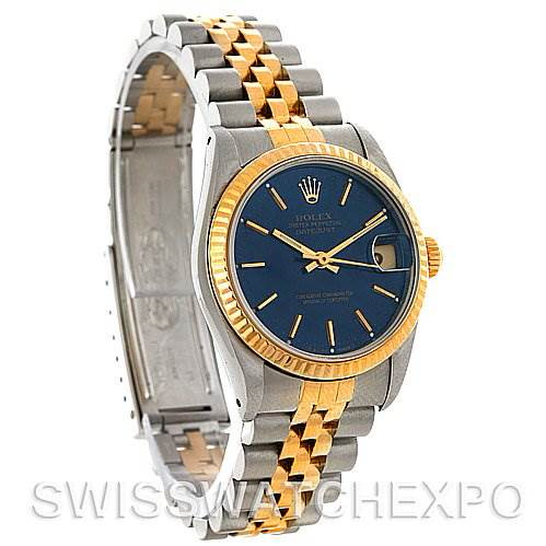 Rolex Datejust Midsize Steel and 18k Gold Watch 68273 SwissWatchExpo