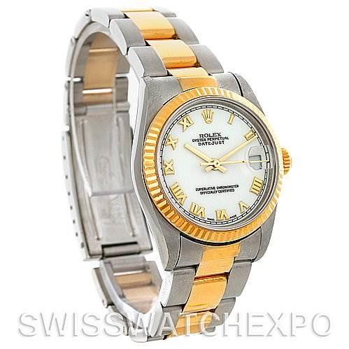 Rolex Datejust Midsize Steel and 18k Gold Watch 68273 SwissWatchExpo