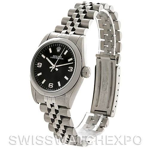 Rolex Midsize Oyster Perpetual Stainless Steel Watch 67480 SwissWatchExpo