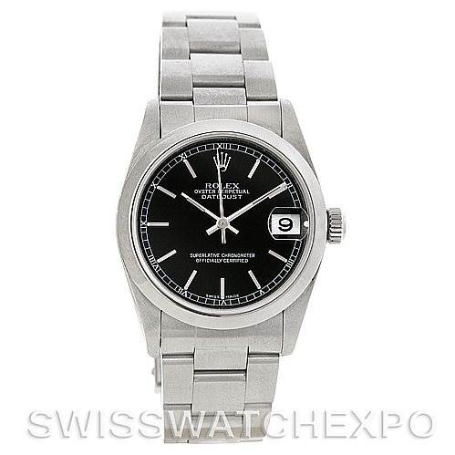 Rolex Midsize Oyster Perpetual Datejust Steel 78240 SwissWatchExpo