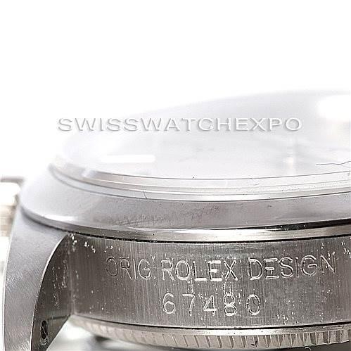 Rolex Midsize Oyster Perpetual Steel Watch 67480 SwissWatchExpo
