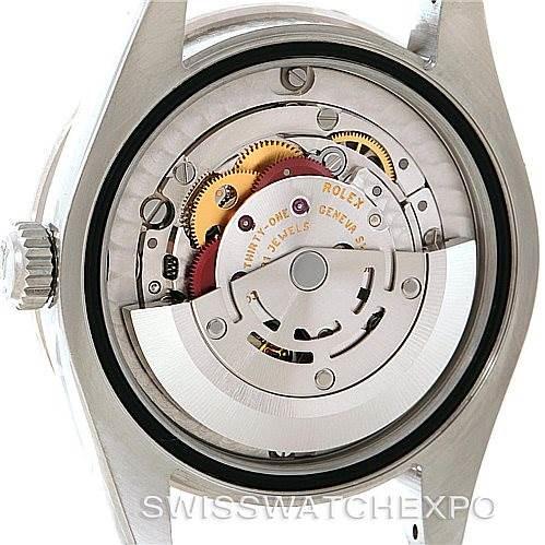 Rolex Datejust Midsize Steel 18k White Gold Diamond Watch 178384 SwissWatchExpo