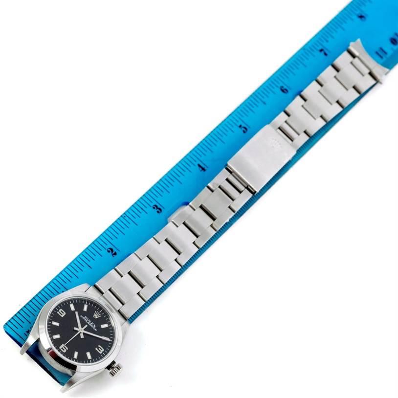 Rolex Midsize Oyster Perpetual Steel Watch 77080 Unworn SwissWatchExpo