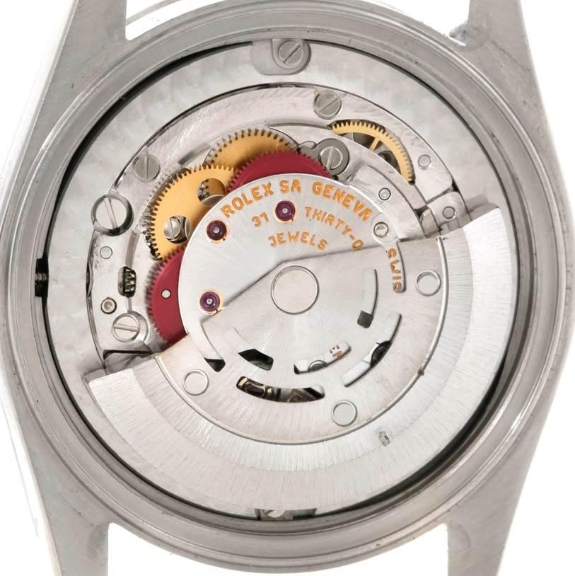 Rolex Datejust Midsize Steel 18k White Gold Watch 78274 SwissWatchExpo