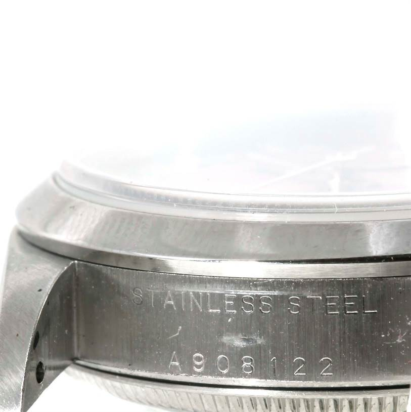 Rolex Midsize Datejust Salmon Dial Steel Watch 78240 SwissWatchExpo