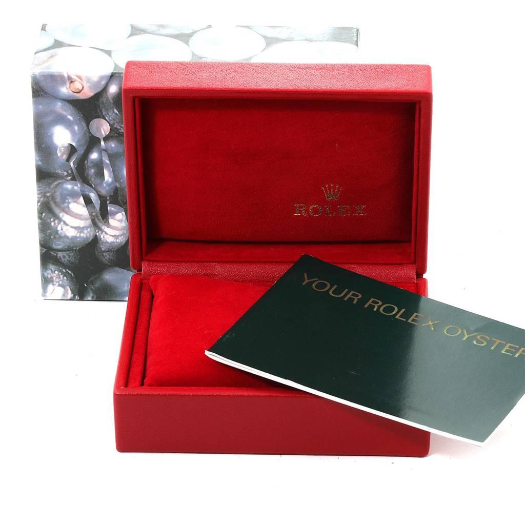24984 Rolex Date White Dial Jubilee Bracelet Ladies Watch 79240 Box SwissWatchExpo