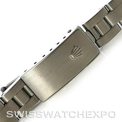 Rolex Oyster Perpetual Date Ladies Steel Watch 79160 SwissWatchExpo