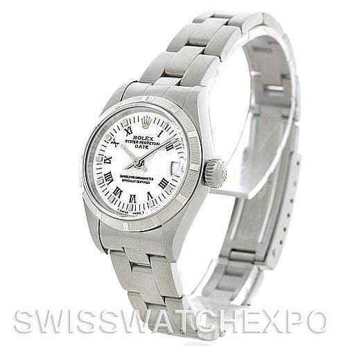 Rolex Oyster Perpetual Date Ladies Steel Watch 79190 SwissWatchExpo
