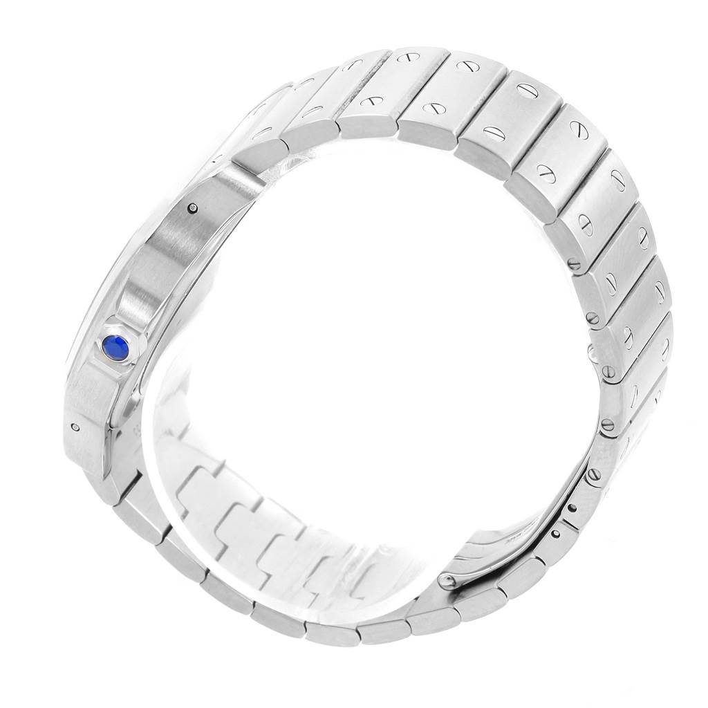 11925S Cartier Santos Galbee XL Steel Mens Automatic Watch W20098D6 SwissWatchExpo