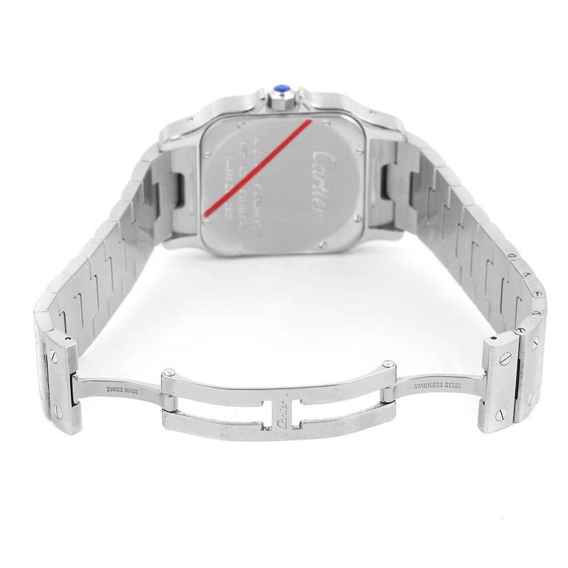 Cartier Santos Galbee XL Steel Mens Automatic Watch W20098D6 SwissWatchExpo