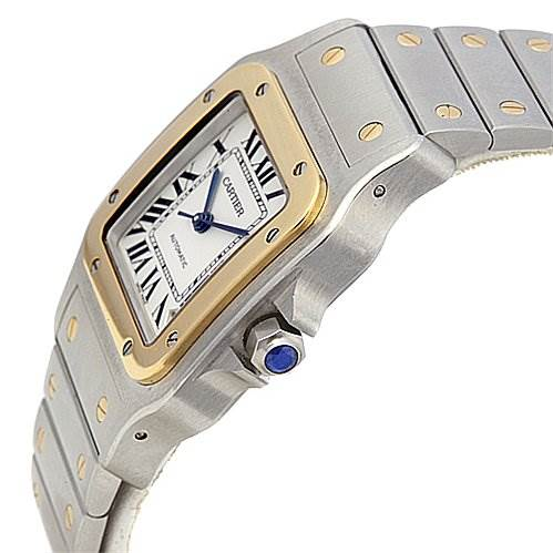 2088 Cartier Santos Galbee Xl  Stainless steel and 18k Watch W20099c4 SwissWatchExpo