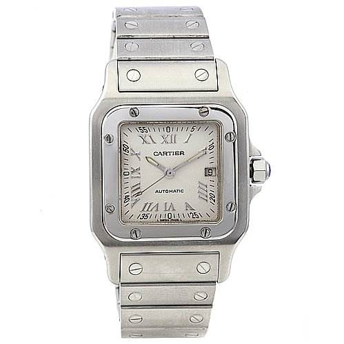 2212 Cartier Santos Galbee Large Automatic Watch W20055D6 SwissWatchExpo