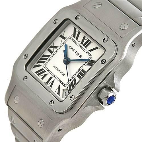 2430 Cartier Santos De Cartier Galbee Xl Automatic W20098d6 SwissWatchExpo