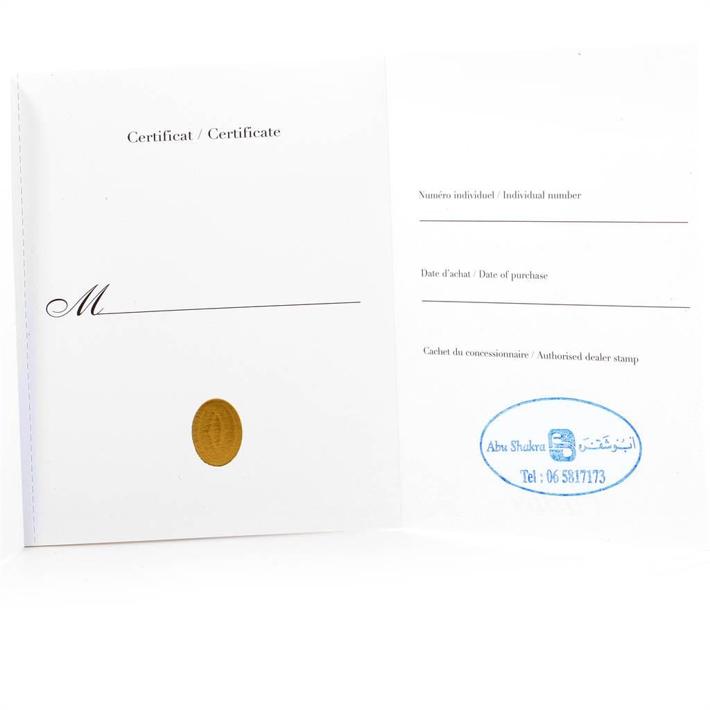 Cartier Santos 100 Rose Gold Black Dial Mens Watch W20124U2 Box Papers SwissWatchExpo