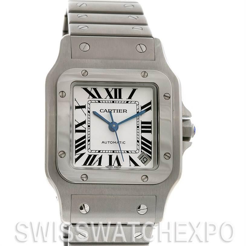 2579 Cartier Santos De Cartier Galbee Xl Automatic W20098d6 Watch SwissWatchExpo