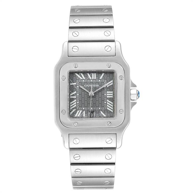 Cartier Santos Galbee Mens Limited Production Quartz Watch W20061D6 SwissWatchExpo