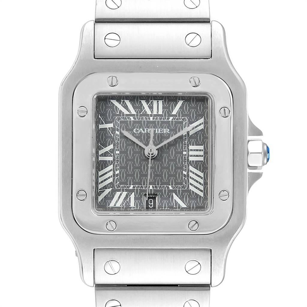 25329 Cartier Santos Galbee Mens Limited Production Quartz Watch W20061D6 SwissWatchExpo