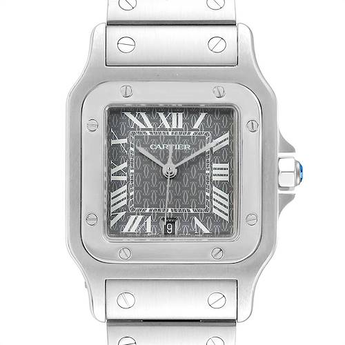 Photo of Cartier Santos Galbee Mens Limited Production Quartz Watch W20061D6