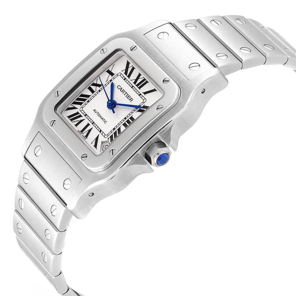 Cartier Santos Galbee XL Automatic Steel Mens Watch W20098D6 SwissWatchExpo