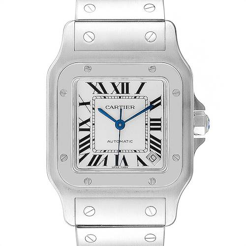 Photo of Cartier Santos Galbee XL Automatic Steel Unisex Watch W20098D6