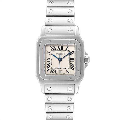 Photo of Cartier Santos Galbee Stainless Steel Mens Watch W20060D6