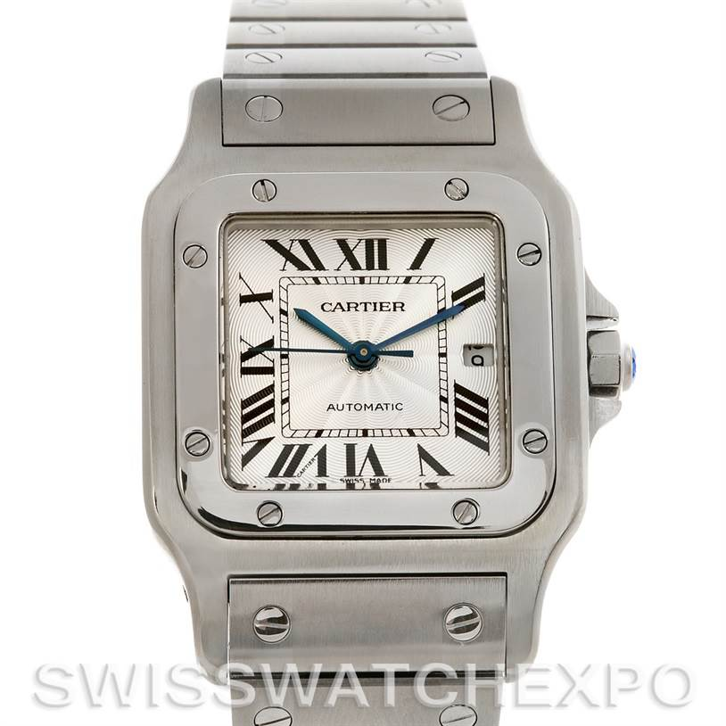 2721 Cartier Santos De Cartier Galbee Large Automatic Watch SwissWatchExpo