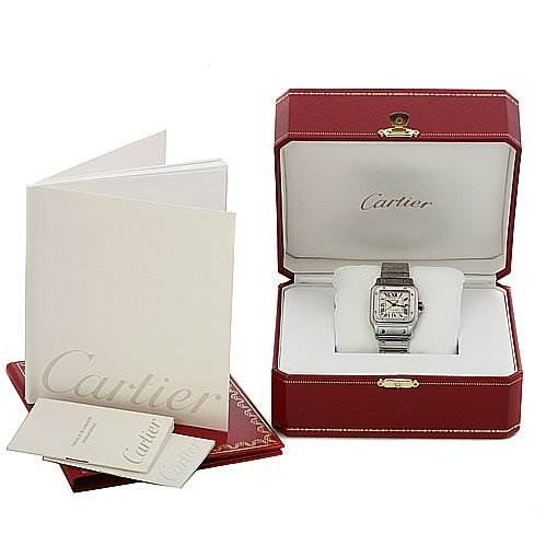 2425 Cartier Santos De Cartier Galbee Large Automatic Watch SwissWatchExpo