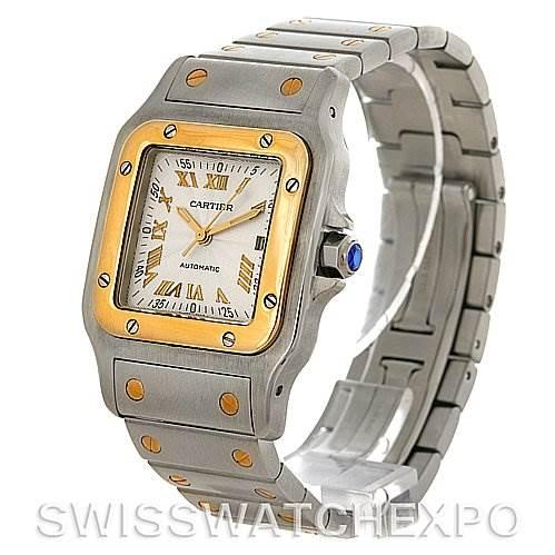4067 Cartier Santos Galbee Large Automatic Watch W20058C4 SwissWatchExpo