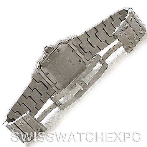4305 Cartier Santos Galbee Large Automatic Steel W20055D6 Watch SwissWatchExpo