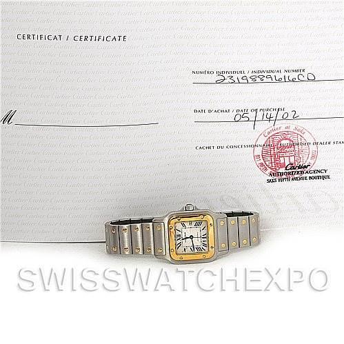 4329 Cartier Santos Galbee Large Automatic Watch W20058C4 SwissWatchExpo