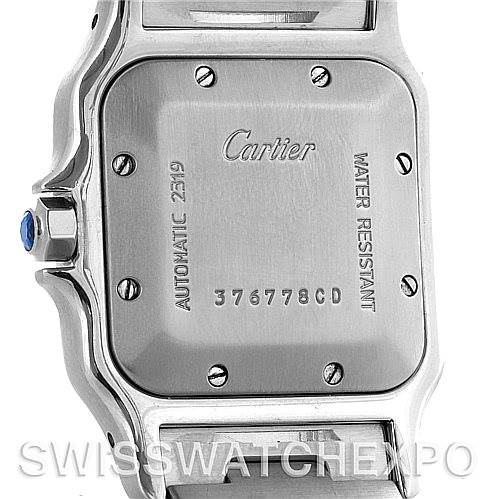 4420 Cartier Santos Galbee Large 18K Yellow Gold Automatic Watch W20058C4 SwissWatchExpo