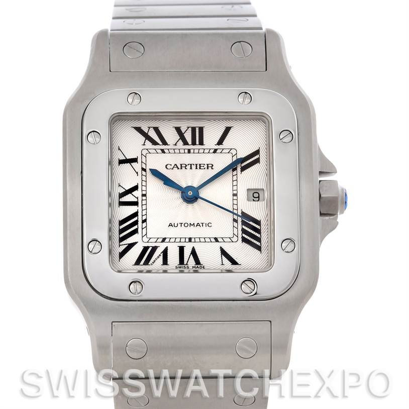 4712 Cartier Santos Galbee Large Automatic Steel W20055D6 SwissWatchExpo