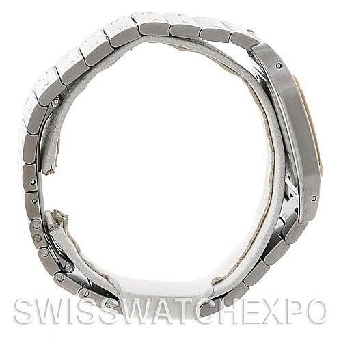 5188 Cartier Santos Large Steel 18K Yellow Gold Watch W20011C4 SwissWatchExpo