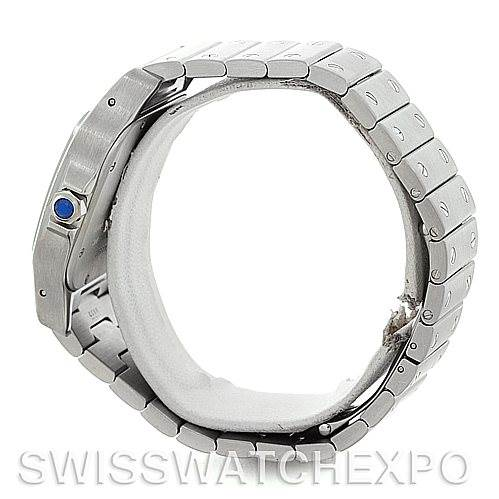 5308 Cartier Santos Galbee XL Steel Mens Watch W20098D6 SwissWatchExpo