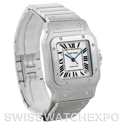 5616 Cartier Santos Galbee XL Steel Mens Watch W20098D6 NOS SwissWatchExpo