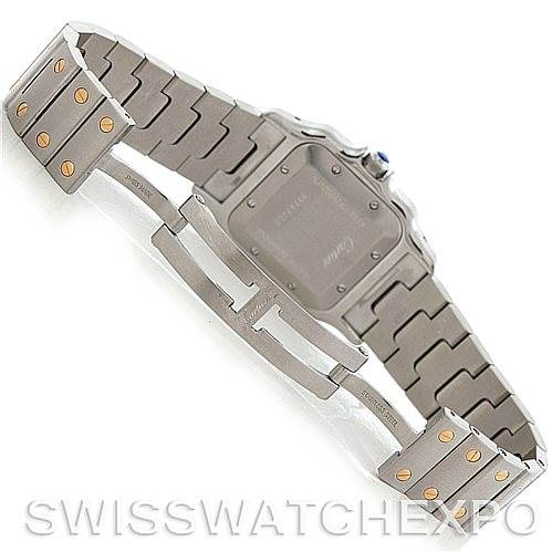 4722 Cartier Santos Galbee Large Automatic Watch W20058C4 SwissWatchExpo