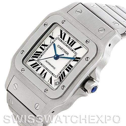 Cartier Santos Galbee XL Steel Mens Watch W20098D6 SwissWatchExpo