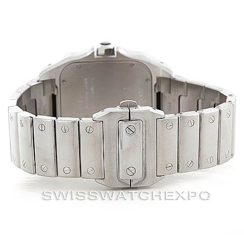 6620 Cartier Santos 100 Large Steel Mens Watch W200737G SwissWatchExpo