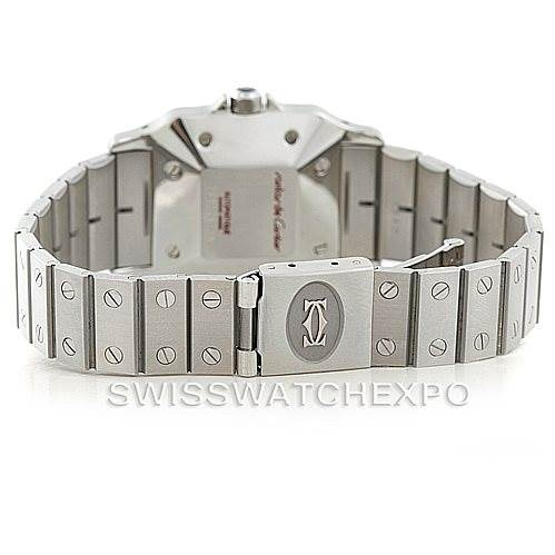 7112 Cartier Santos Galbee Mens Automatic Steel Watch Unworn SwissWatchExpo