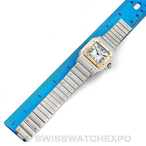 Cartier Santos Galbee XL Steel 18K Yellow Gold Mens Watch W20099C4 SwissWatchExpo