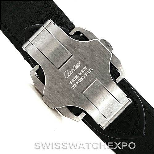 7991 Cartier Santos 100 X-Large Chronograph Watch W20090X8 SwissWatchExpo