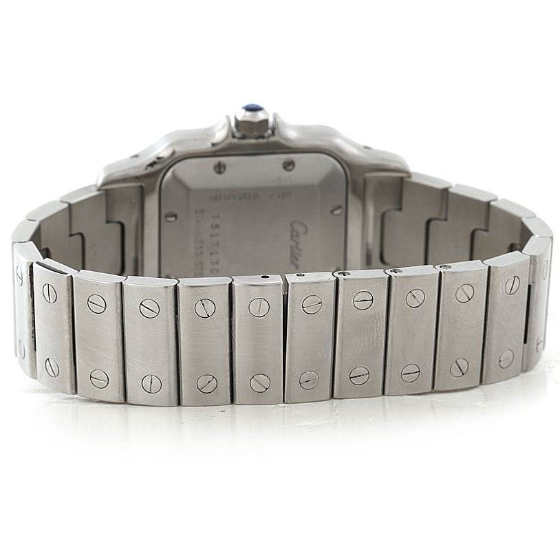 Cartier Santos Galbee Mens Automatic Steel Watch W20055D6 SwissWatchExpo
