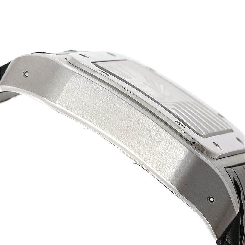 8114 Cartier Santos 100 W20073X8 Mens Stainless Watch Unworn SwissWatchExpo