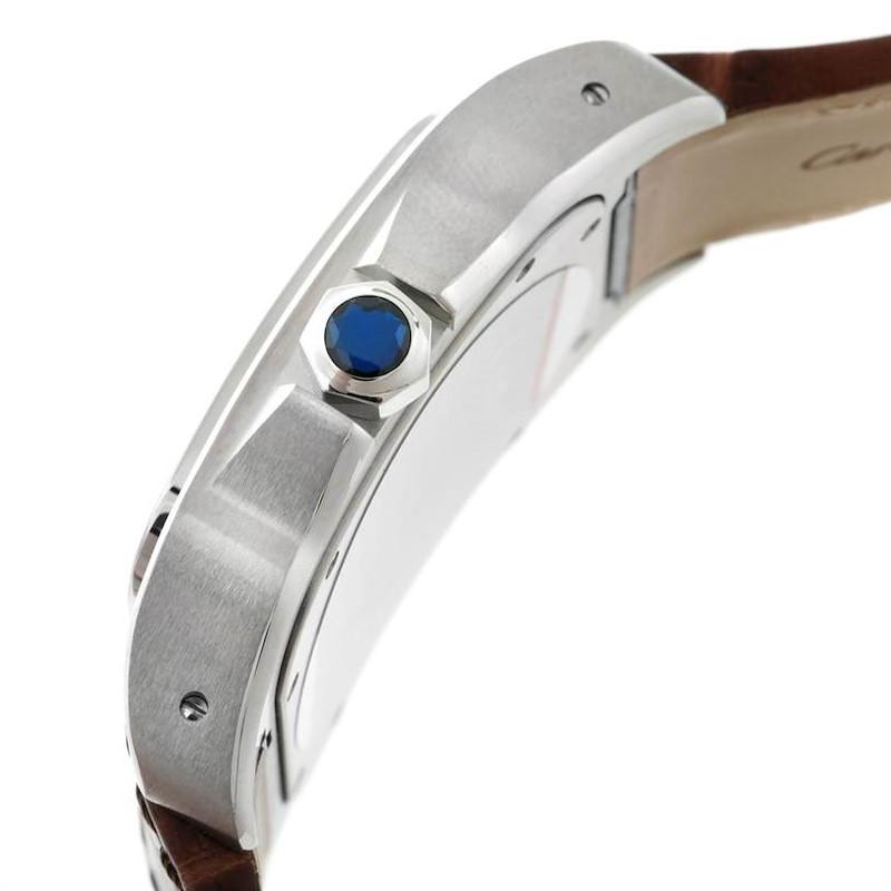 Cartier Santos 100 Automatic Mens Watch W20073X8 Unworn SwissWatchExpo