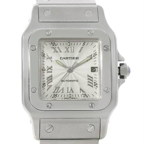 Photo of Cartier Santos Galbee Mens Automatic Steel Watch W20055D6