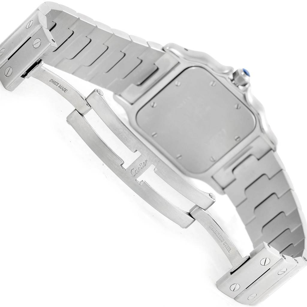 8970 Cartier Santos Galbee Mens Limited Production Quartz Watch W20065D6 SwissWatchExpo