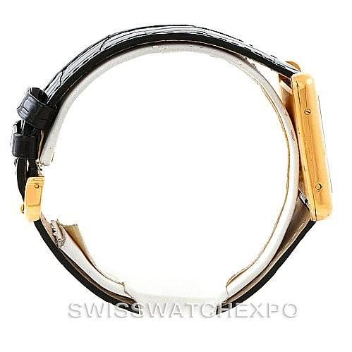 7290 Cartier Tank Louis Mens 18k Yellow Gold Watch W1529756 SwissWatchExpo