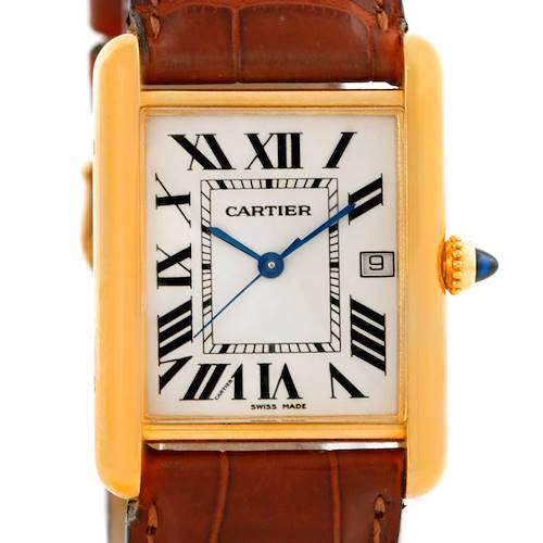 Photo of Cartier Tank Louis Large 18k Yellow Gold Watch W1529756